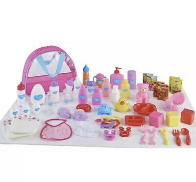 Chad Valley Babies to Love Deluxe Changing Bag Set Toy Baby Doll Accessories