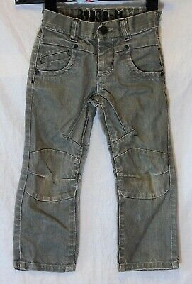 Boys Next Grey Panelled Denim Adjustable Waist Relaxed Fit Jeans Age 5 Years
