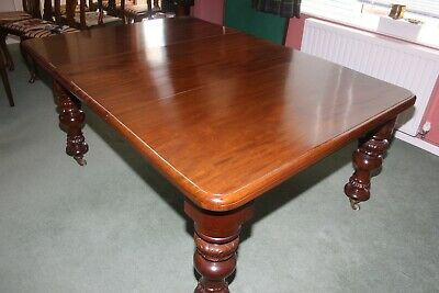 Antique Georgian Dining Table George IV Mahogany Early C19th extending