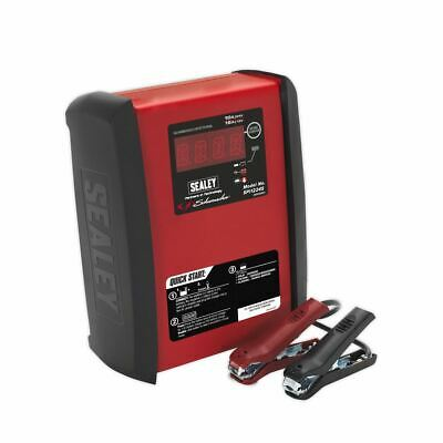 Sealey SPI1224S Intelligent Speed Charge Battery Charger 12V 15A/24V 10A