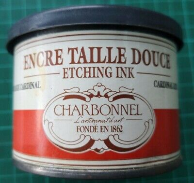 Charbonnel Etching Ink Cardinal Red 200ml Tin Studio clearance