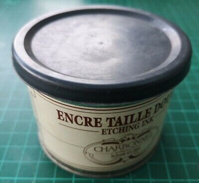 Charbonnel Etching Covering white 200ml Tin Studio clearance