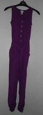 Girls Stylish Purple Jumpsuit Age 11 Years - Kylie