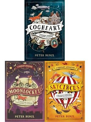 The Cogheart Adventure Series Collection 3 Books Set, BRAND NEW