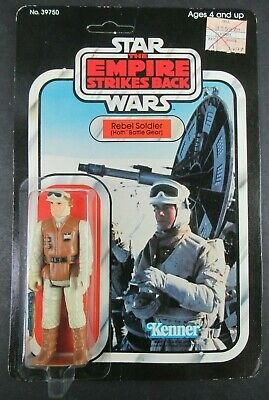 Star Wars Empire Strikes Back Rebel Soldier 32 On Back Card 1980 Sealed!