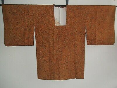 Special Sale Auth. Japanese Michiyuki Jacket With Abstract Design Ladies, Medium