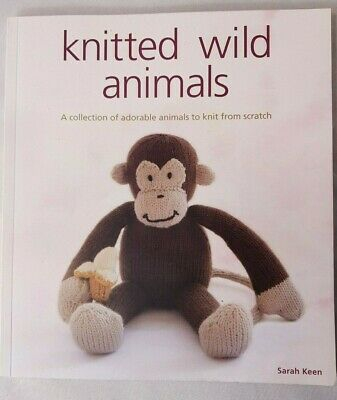 Knitted Wild Animals by Sarah Keen 9781861086709