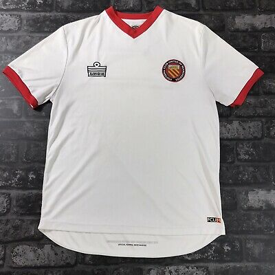 FC United Of Manchester Shirt Size Small Retro Admiral Away Top 2010