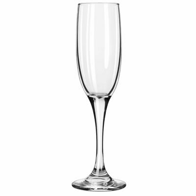 Libbey 3796/69292 Embassy 6 Ounce Flute Glass - 12 / CS