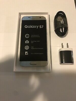 Samsung Galaxy S7 - G930U - 32GB - Silver- Unlocked; AT&T / T-Mobile / Global