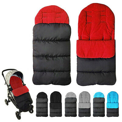Baby Comfortable Footmuff Stroller Pad Cotton Sleeping Bag Winter Warm Durable