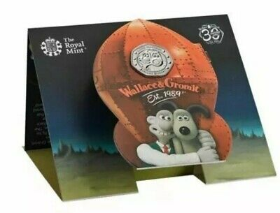 Wallace & Gromit BU Coin 2019 50p (IN HAND) OUT OF STOCK ONLINE. Christmas gift