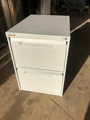 2 Draw Filing Cabinet, Elite Built, Office Home, Shed, Storage WITHOUT KEY