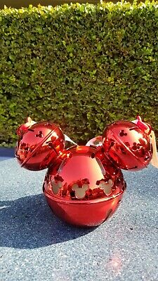 Disneyland Disney Parks 2019 Christmas Mickey Jingle Bell Ornament Sipper