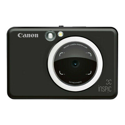 New Canon Inspic S Instant Camera - Black