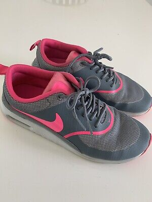 Pink And Grey Nike Runners - Size 8