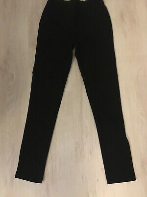 Next Girls Skinny Stretch Trousers Size 11 Years