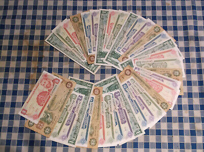 36 banknotes of Jamaica, Nicaragua and Paraguay (5/6ths uncirculated) no reserve