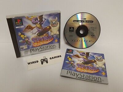 Spyro: Year Of The Dragon - PS1 (Sony Playstation 1) Complete (PAL) Platinum
