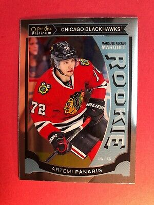 2015-16 OPC Platinum Marquee Rookie #M25 Artemi Panarin Chicago Blackhawks RC