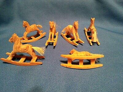 Hand Carved Mini Rocking Horse