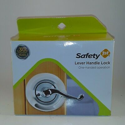 Safety 1st Lever Handle Lock One Handed Operation Child Protection Device