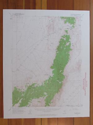 Fencemaker Nevada 1963 Original Vintage USGS Topo Map