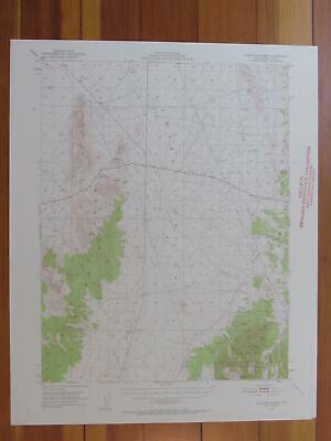 Pancake Summit Nevada 1958 Original Vintage USGS Topo Map