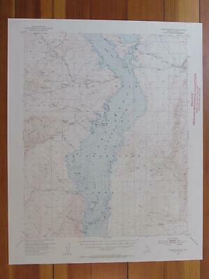 Overton Beach Nevada 1955 Original Vintage USGS Topo Map