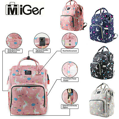 Mom Baby Diaper Bags Large Maternity Multifunctional Waterproof Travel Backpack