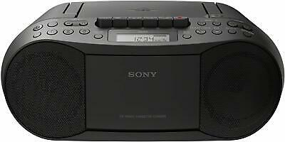 Sony CFD-S70 CD/Cassette-Corder Boombox AM/FM Headphone/Line-in Jack