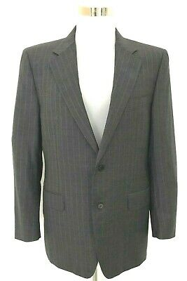 Canali Italy men's suit, Grey pin stripe, Super 120's, 52R large