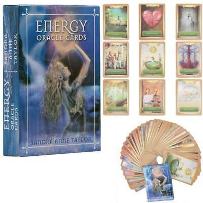 Energy + Power Oracle Cards Magic Tarot Cards Deck Set Divination Guidance Game