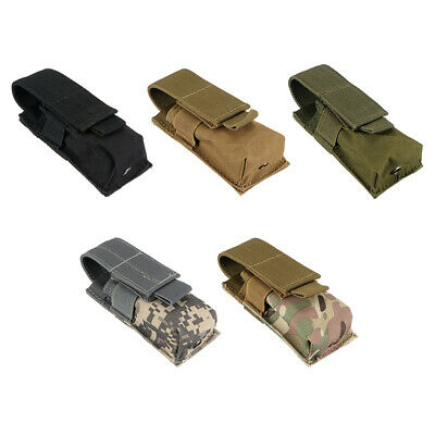 Military Flashlight Torch Belt Holster Holder Case Pouch CP Color  Fine