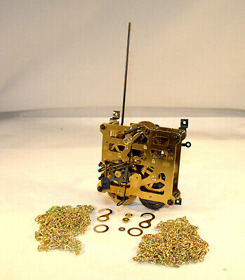 Rebuilt Regula 8 Day Cuckoo Movement, 34/1/73, Plus New Chains and More, TESTED