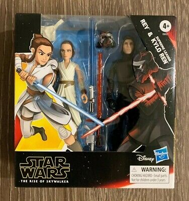New! Star Wars The Rise of Skywalker Galaxy of Adventures Rey & Kylo Ren 2 Pack