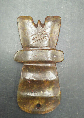 Hongshan culture ,collectibles,Chinese old  jade  Amulet pendants WM458
