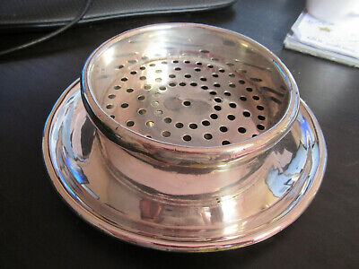 Rare Mappin & Webb Prince's Plate Silver Butter dish British & Commonwealth ship