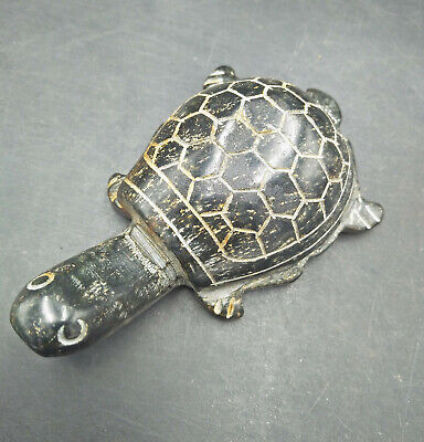 Exquisite Chinese old carved jade  turtle WM486