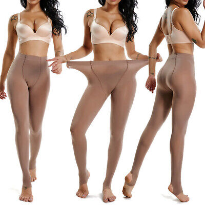 240lbs Women's Plus Size Stretchy Warm Pantyhose Tights Stirrup/Footed Stockings