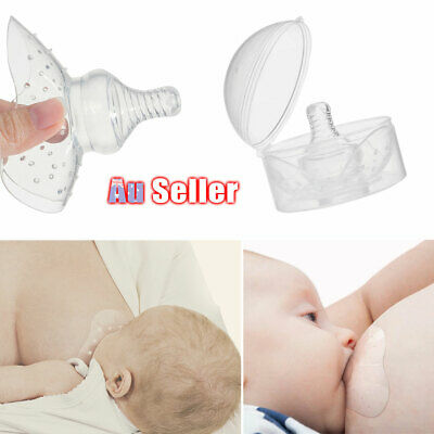Baby Breast Milk Protective Cover Silicone Nipple Shield Contact Feeding