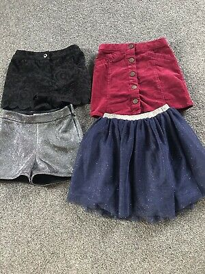 Girls Clothes Bundle Skirts And Shorts Age 6-7