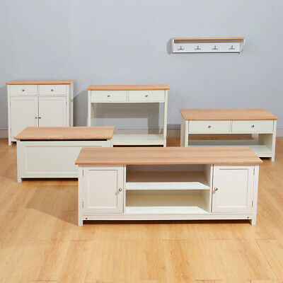 Modern Compact Storage Cabinet Wood Sideboard Cupboard Shelf Console Table Stand