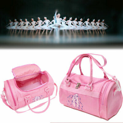 Girls School Handbag Dance Duffle Bag Gymnastics Ballet Kids Shoulder Bag  Tote