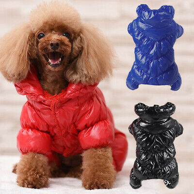 Winter Dog Warm Coat Waterproof Puppy Clothes Jumpsuit Puppy Outfit Dog Apparel