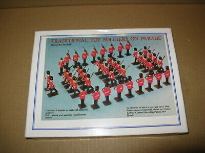 prince august casting kit No 800 traditional toy soldiers on parade