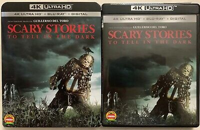 Scary Stories To Tell In The Dark 4K Ultra Hd Blu Ray 2 Disc + Slipcover Sleeve