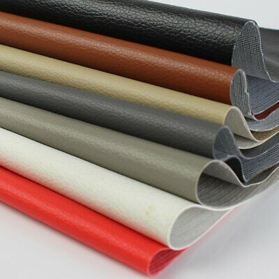 Decorative Leather Fabric Synthetic Vinyl Ideal for any type upholstery projects