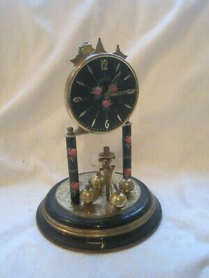 Andy Brass Anniversary Clock Lantern Torsion 19Cms For Spares Repairs Parts