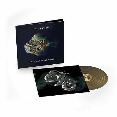 JEFF LYNNE'S ELO 'FROM OUT OF NOWHERE' Deluxe Gold Coloured VINYL LP (2019)